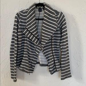 Saks Fifth Avenue Blue Brand striped Blazer